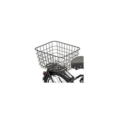 ブリヂストン(BRIDGESTONE) 自転車 カゴ おおきいバスケット POLARフロント兼用 ダークグレー RBK-BKCB F7619