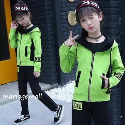 ダンス衣装 ダンス 衣装 ヒップホップ 子供服 ヒップホップ キッズダンス衣装 セットアップ 韓国子供服 セットアップ キッズ ダンス