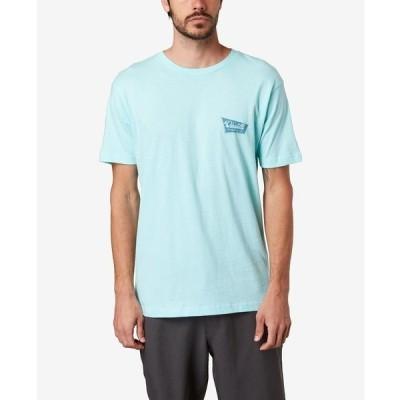 オニール Tシャツ トップス メンズ Men's Shop Sign T-shirt Mint