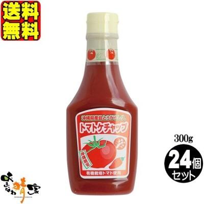 島とうがらし入り トマトケチャップ 300g×24個 (沖縄産 島とうがらし入 とまと ケチャップ) 送料無料