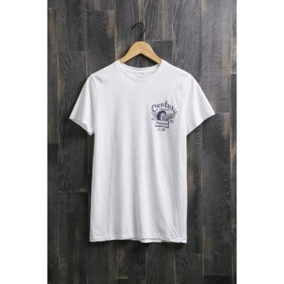 センチュリーモーターズ バイ ボンダッチ Tシャツ C/N SS T-SHIRT コットン ショートスリーブ Tシャツ century 14 WHITE メンズ CENTURY MOTORS BY VONDUTCH