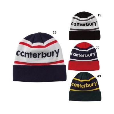 帽子 ロゴ カンタベリー CANTERBURY スペクテーター ニット キャップ ワッチ帽 ラグビー スポーツ カジュアル セール AC09817