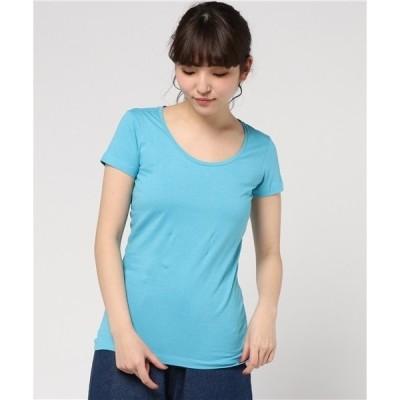 tシャツ Tシャツ PACT/パクト レディース オーガニックコットン SCOOP NECK TEE-MAUI