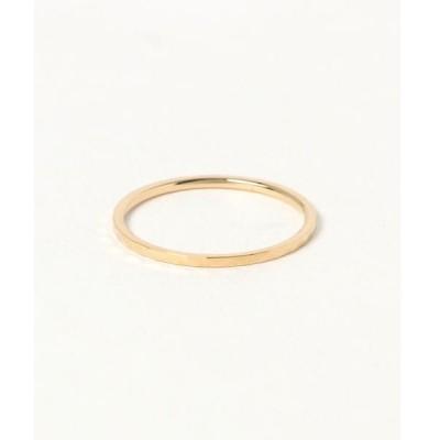 指輪 K18YG カットリング 「クレール」