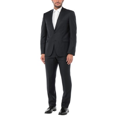 CALVIN KLEIN COLLECTION スーツ ダークブルー 56 ウール 100% スーツ