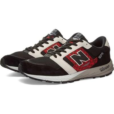 ニューバランス New Balance メンズ スニーカー シューズ・靴 mtl575hj harajuku - made in england Red/Black