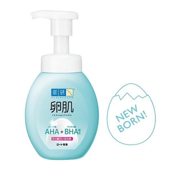 Hada-Labo肌研卵肌溫和去角質泡洗顏 160ml