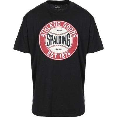 スポルディング SPALDING メンズ Tシャツ トップス T-Shirt Black
