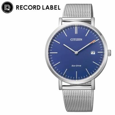 シチズン 腕時計 CITIZEN 時計 レコードレーベル スタンダードスタイルプラス RECORD LABEL Standard Style + 女性 向け レディース AU1080-62L