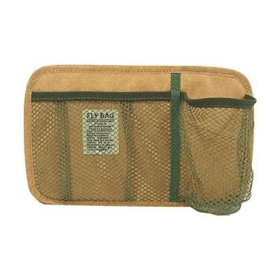 BRUSH UP STANDARD FLY BAG シートポケット車載用 カーオーガナイザー #1 ブラウン 軽量 耐水 不織紙製 BUS312