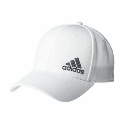 アディダス 帽子 アクセサリー メンズ Release II Stretch Fit Structured Cap White/Onix