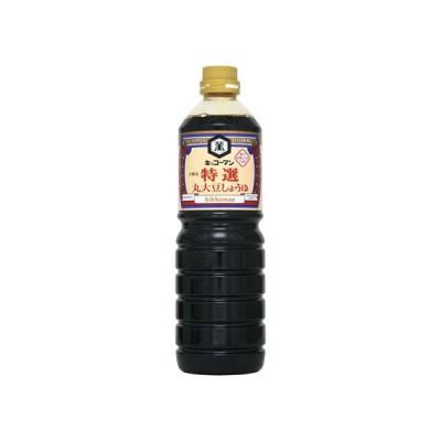キッコーマン 特選 丸大豆醤油 パック 1L x6 *