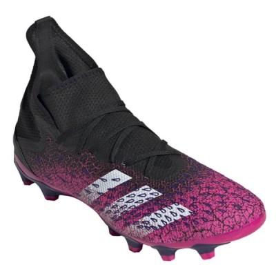 アディダス プレデターフリーク.3HG/AG PLEDATOR FW7515 メンズ サッカー スパイクシューズ 2E : ピンク×ホワイト adidas