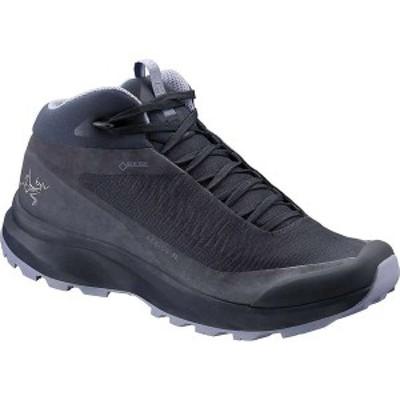 アークテリクス レディース ブーツ・レインブーツ シューズ Arcteryx Women's Aerios FL Mid GTX Shoe Black Sapphire / Binary