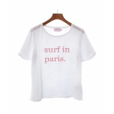 CUISSE DE GRENOUILLE キュイスドゥグルヌイユ Tシャツ・カットソー レディース