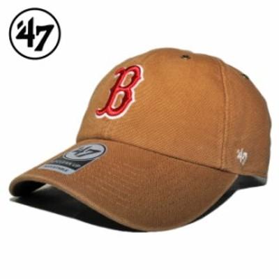 47ブランド カーハート コラボ ストラップバックキャップ 帽子 メンズ レディース 47BRAND CARHARTT MLB ボストン レッドソックス フリー