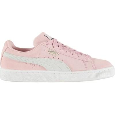 プーマ Puma レディース スニーカー シューズ・靴 Suede Classic Trainers Pale Pink