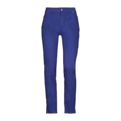 CRISTINAEFFE COLLECTION パンツ ブルー 44 コットン 98% / ポリウレタン 2% パンツ