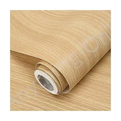 新品 practicalWs 木製コンタクトペーパー 粘着式 木製壁紙 剥がして貼れるシェルフライナー 17.7''×393''並行輸入