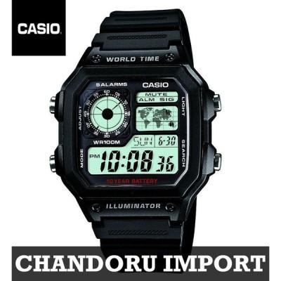 カシオ CASIO 腕時計 時計 チープカシオ チプカシ AE-1200WH-1A