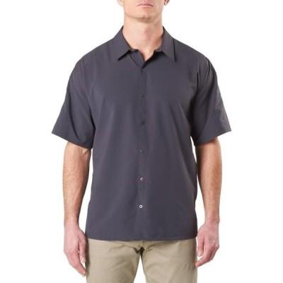 メンズ 衣類  5.11 Tactical Men's Corporate Freedom Flex Shirt Short Sleeve 100% Polyester Stretch Charcoal S Style 71371