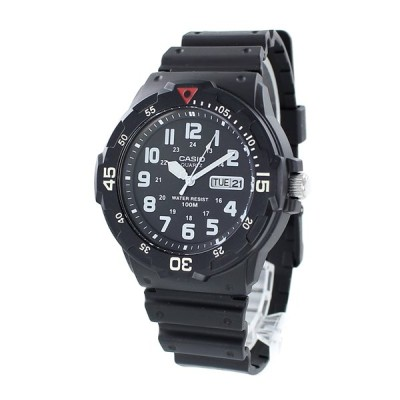 小学生から使える カシオ スタンダード メンズ レディース 逆輸入 チプカシ 防水 水泳 釣り MRW-200H-1B あすつく 腕時計