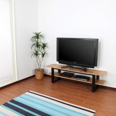 テレビボード 120 おしゃれ TV台 ローボード 西海岸 アメリカン 棚付き シンプル