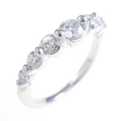 K18WG ダイヤモンドリング