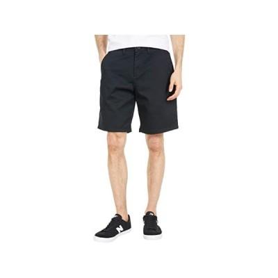 (取寄)バンズ ストレッチ ショーツ Vans Authentic Stretch Shorts Black