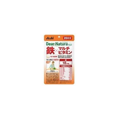アサヒグループ食品 【Dear-Natura(ディアナチュラ)スタイル】鉄×マルチビタミン(60粒) [振込不可]