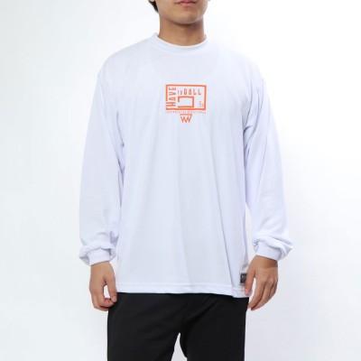 オンザコート ON THE COURT バスケットボール 長袖Tシャツ ボールライン 長袖Tシャツ BT-6049