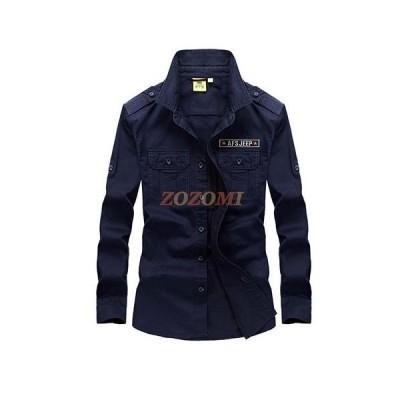カジュアルシャツ メンズ シャツ 長袖 メンズ服 デザイン コットンシャツ 綿 カジュアルシャツ jpsc045