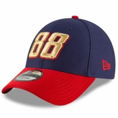 New Era ニュー エラ スポーツ用品  New Era Alex Bowman Navy Hex Flag 9FORTY Adjustable Hat