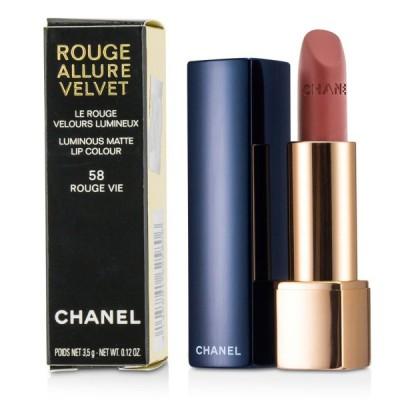 シャネル リップスティック Chanel 口紅 ルージュ アリュール ヴェルヴェット #58 Rouge Vie 3.5g