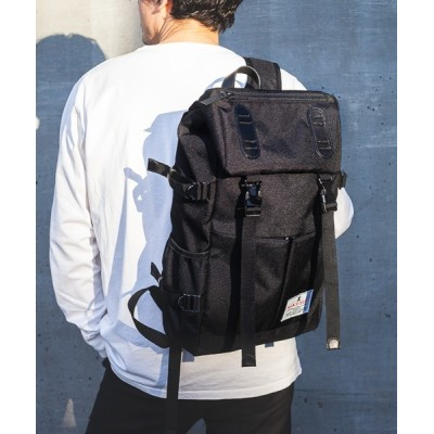 MAKAVELIC / DOUBLE BELT PMD MIX DAYPACK MEN バッグ > バックパック/リュック