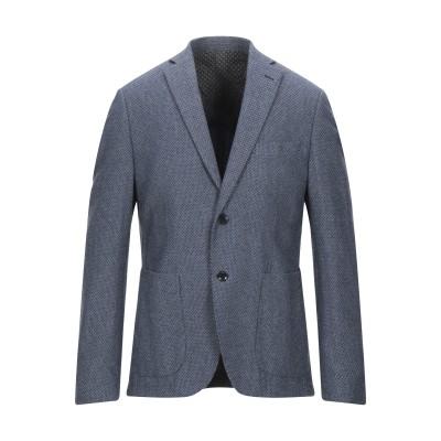 ASFALTO テーラードジャケット ダークブルー 50 コットン 68% / ナイロン 32% テーラードジャケット