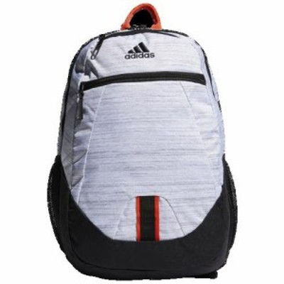 (取寄)アディダスファンデーション 5 バックパック adidas Foundation V Backpack White Black Active Orange