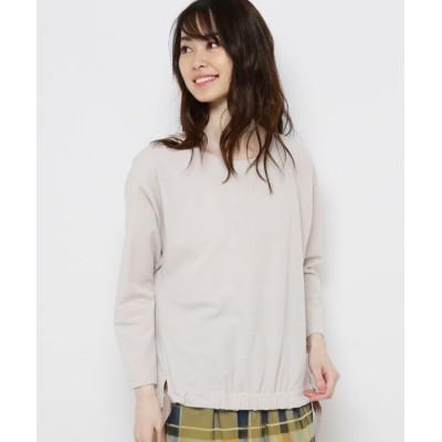 smart pink(スマートピンク) 【手洗い可】ストレッチ裾リボンプルオーバー