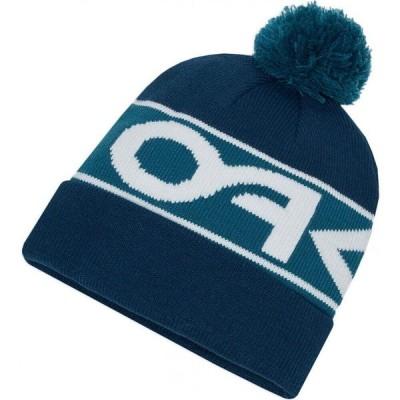 オークリー Oakley メンズ ニット ビーニー 帽子 factory cuff beanie Pond Blue