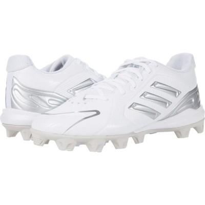 アディダス adidas レディース スニーカー シューズ・靴 PureHustle Mid Footwear White/Silver Metallic/Grey One