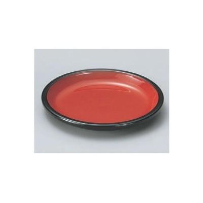 薬味皿 樽型ヤクミ皿朱天黒 高さ11 直径:85/業務用/新品