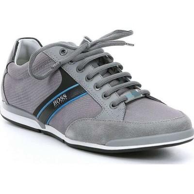 ヒューゴ ボス Hugo Boss メンズ スニーカー レースアップ シューズ・靴 BOSS Saturn Lace-Up Sneaker Grey