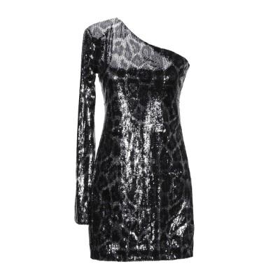 アールティーエー RTA ミニワンピース&ドレス ブラック 2 ポリエステル 100% ミニワンピース&ドレス
