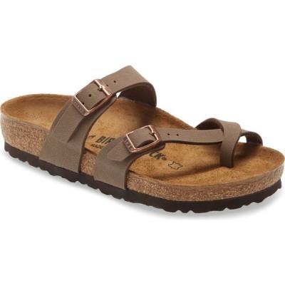 ビルケンシュトック BIRKENSTOCK レディース サンダル・ミュール スライドサンダル シューズ・靴 Mayari Birko-Floor Slide Sandal Brown