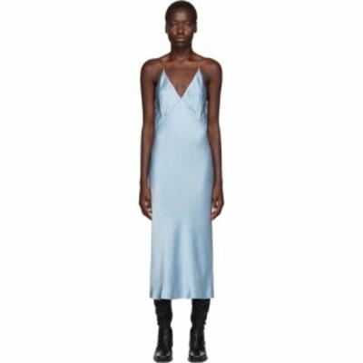 ハイダー アッカーマン Haider Ackermann レディース ワンピース キャミワンピ ワンピース・ドレス ssense exclusive blue kuiper camiso