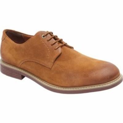 ロックポート 革靴・ビジネスシューズ Classic Break Plain Toe Oxford Cognac Suede