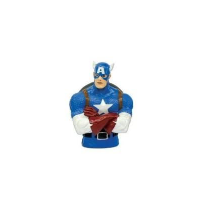 Marvel (マーブル) Captain America (キャプテンアメリカ) Bust Bank フィギュア おもちゃ 人形
