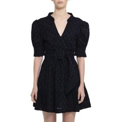 レベッカ・ヴァランス レディース ワンピース トップス Rebecca Vallance Valentina Mini Dress black