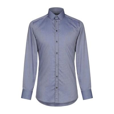 ドルチェ & ガッバーナ DOLCE & GABBANA シャツ ブルー 37 コットン 100% シャツ