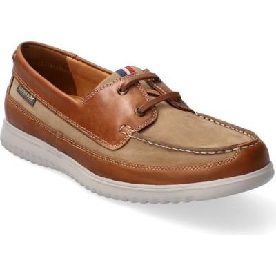 メフィスト MEPHISTO メンズ デッキシューズ シューズ・靴 Trevis Boat Shoe Taupe Leather